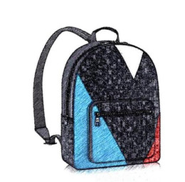 Wholesale Pocket Sailboats - Limited Edition Luxury Brand Backpack Sailboat PU Leather Mens Backpacks High Quality Boy's and Girl's Backpack
