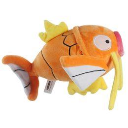 Wholesale Fishing Games Toy - New Magikarp Orange Fish Plush Doll Figure Toy 20CM