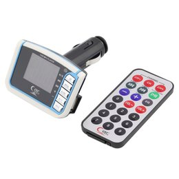 Wholesale Mp3 Player D - Wholesale- 1pcs Wholesale Remove Control SD TF d 1.44 inch LCD Wireless FM Transmitter MP3 Player audio stereo Newest 2016