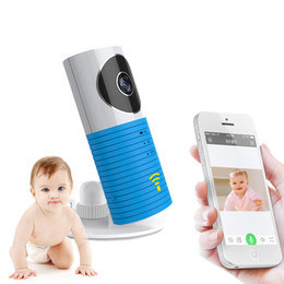 Wholesale Smart Dog Infrared - Clever Dog Smart Camera Home Security Wifi IP Camera Baby Monitor Intercom Audio Night Vision Motion Detection