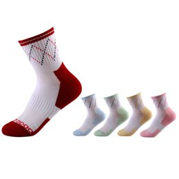 Wholesale Cheap Athletic Shorts - Womens Colorful Casual Sock Ladies Spring Athletic Sports Short Ankle Hosiery Female Cotton Knitted Socks 12 Pairs per Pack Cheap Wholesale