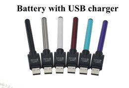 Wholesale Slim Ecig - Vape Pen Ecig Vaporizer 510 Bud Touch Battery Mini Slim Open Auto Batteries For Ce3 Cbd Cartridge Atomizer Vapes