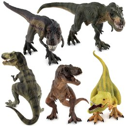 Wholesale Model Toys For Boys - Educational Simulated Jurassic Dinosaur Model Kids Children Assemble Developmental Puzzle Toy Dinosaur Figures Toy for Boys Birthday Gift