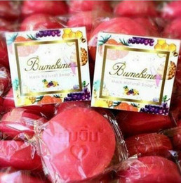 Wholesale Wholesale Thai Handmade - Bumebime Soap Handmade Soap Thailand Whitening Soap Fruits Essential Oil Bath and Body Works Beauty Thai Facial Cleansing Product