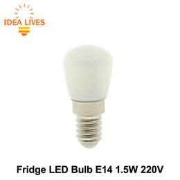Wholesale Fridge Bulbs - Wholesale-LED Fridge Light E14 1.5W 220V Mini Night Light LED Bulb.