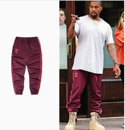 Wholesale Men S Classic Sweatpants - Spring Print Kanye Pants Jogger For Men Hip Hop Classic Skateboards Casual Season 4 Sweatpants Trousers XXXL