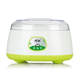 Wholesale Fever Heat - Yogurt Maker Automatic Household Stainless Steel Liner 1.2L Capacity Pink Green 220V PTC Heated Fever