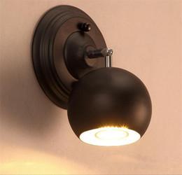 Classique Pays Style Industriel Loft Mur Lampe Salon Allée Escalier Applique Murale Belle Simple Fer Applique Murale ? partir de fabricateur