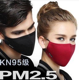 Wholesale Cloth Mouth - NEW ARRIVE 100% Cotton Mouth Mask Anti-Dust Cloth Surgical Mouth Masks drop shipping