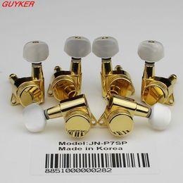 Wholesale Guitar Locks - 1SET Guitar Locking Tuners Guitar machine head Gold JN-P7SP