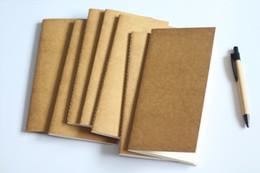 livro em capa dura Desconto Padrão / Bolso Caderno de Papel Notepad Diário Diário do Viajante do Viajante Notebook Recarga Planejador Organizador de Enchimento De Papel escola crianças presente
