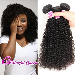 Wholesale Kinky Curly Deals - Hot Selling Peruvian Virgin Hair Kinky Curly 3 Pcs Peruvian Curly Human Hair Weave Weft Cheap Soft Peruvian Kinky Curly Hair Bundles Deals