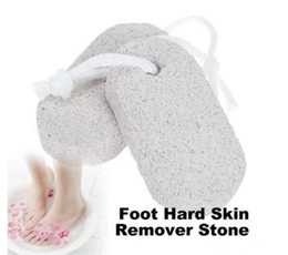 Wholesale Feet Skin Remover - Best Price 600pcs Strong Skin Foot Clean Scruber Scrub Pumice Stone Hard Skin Remover Pedicure W1130