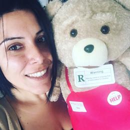 Wholesale Ted Movie Apron - 2017 Movie Teddy Bear Ted 2 Plush Toys In Apron 48CM Soft Stuffed Animals & Plush