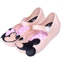 Wholesale Summer Sandals For Baby Girls - Mini Melissa Girls shoes princess 2017 Summer Girls Sandals Cute Children Baby Shoes Sandals for girls Jelly shoes Kids sandals