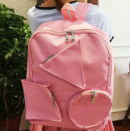 3 pockets backpack Geometry patch rucksack Unique sack school bag Cool  daypack Outdoor schoolbag Sport day pack 7bf099463197a