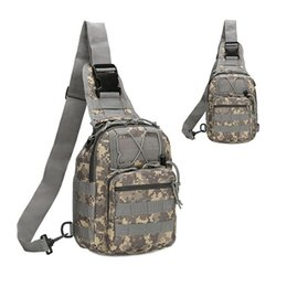 Wholesale Sports Camouflage - Outdoor Military Shoulder Tactical Women Men's Backpack Rucksacks Sport Camping Travel Bag Climbing Bag B14