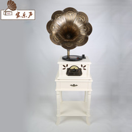 Wholesale Building Home Design - Wholesale-Hot Classic Woonden Design Radio Record Player, USB SD Bluetooth Vinyl record player, Gramophone, Phonograph For Sale