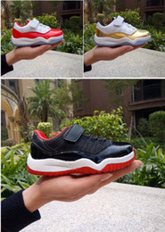 Wholesale Air Fibre - 2017 New arrival Basketball Shoes Retro 11s XI Kid Shoes Breathable Dark Grey alpaca fibre Sneakers Georgetown Space Jam Citrus GS