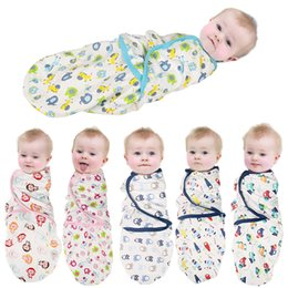 Wholesale Organic Baby Sleeping Bags - 13 typesdiapers Swaddle summer organic cotton infant newborn thin baby wrap envelope swaddling swaddle Baby Sleeping Bag
