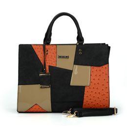 Wholesale Cheap Designer Handbag Brands - 2017 PU brand designer handbags online cheap women bags black lady crossbody and brown purse SY2136