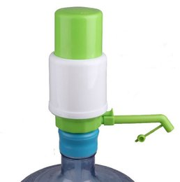 Wholesale New Drinking Hand Press Pumps - New Arrival assemble And removable Manual 5 6 Gallon Bottled Drinking Water Hand Press Pump Dispenser Home Office LLFA
