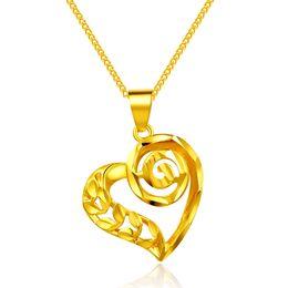 Canada 2107 Nouvelle Arrivée Top qualité Peace and love Collier pendentif en or pour les femmes mariée cadeau de mariage Offre