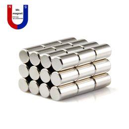 Magneti 15mm online-Wholesaler-50pcs magnete 8x15 magnete 8 * 15mm NdFeB D8x15mm magnete di terre rare 8mm x 15mm magneti al neodimio 8x15mm 8 * 15 spedizione gratuita