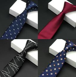 Mens Acessórios Xadrez De Poliéster Gravatas para Homens Marca Gravata de Negócios Terno Camisa Casamento Namorados Skinny Gravata de Fornecedores de listras brancas pretas gravata