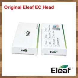 Wholesale Ec Free - 100% Authentic Original Eleaf EC Head 0.3ohm 0.5ohm Coil Fit iJust S 2 Melo Atomizer Tanks Electronic Cigarette DHL Free
