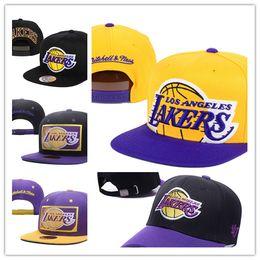 Wholesale Blue White Snapbacks - Free Shipping 2017 Los Angels Lakers snapback hats Sprots All Team snapbacks hat baseball Caps men women