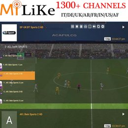 Wholesale Pcs Channels - QHDTV Arabic Sports Italy UK Germany 1300+ Europe IPTV Arabic Iptv Channels Streaming IPTV Account Apk Work on Android PC M3U MAG250 254