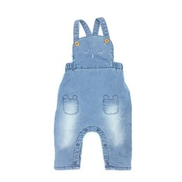 Wholesale Suspender Jeans Overalls - Baby Girls Clothes Jeans Spring Autumn Overalls Knitting Denim Animal Embroider High Quality Cute Infant Clothing