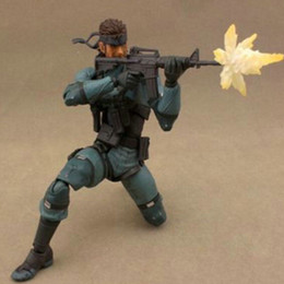 Wholesale Metal Gear Model - Snake Metal Gear Solid 2 Sons of Liberty Action Figure Models Decoration Toys