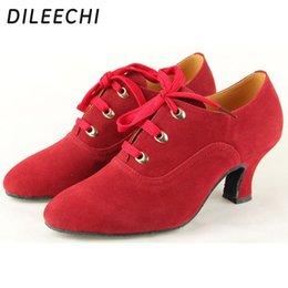Wholesale Latin Dance Shoes Brands - TOP Sneakers DILEECHI brand Latin dance shoes women's adult dance shoes ballroom dancing shoes