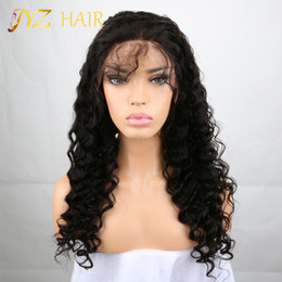 Wholesale Brown Jerry - JYZ 8A Brazilian human hair lace Wig Human Hair Wigs Glueless Full Lace Wigs Lace Front Wigs For Black Women Jerry Curly