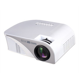 Wholesale Newest 3d Movies - Wholesale- Newest RD805 Upgrade RD805B MINI Projector Proyector Beamer For Video Game TV Home Theatre 3D Movie Support HDMI VGA AV SD USB