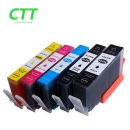 Wholesale Hp 5525 - CTT 5PCS Ink Cartridges 564XL Compatible For HP564 HP 564 564XL hp Photosmart 5510 5511 5512 5514 5515 5520 5522  5525 6510 printer