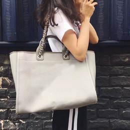 Argentina mujeres de la manera jean bolso de compras mujeres del bordado bolso de la playa mujeres de estilo de lujo cadena de hombro bolso de la lona Suministro