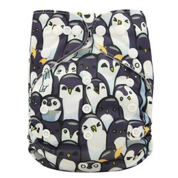 Wholesale Washable Potty Covers - Washable Diapers Couches Lavables Adjustable Baby Diaper Cover Wrap Print Baby Nappy Changing Reusable Baby Cloth Diapers