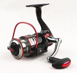 bobines en métal Promotion Spinning moulinet de pêche 10 + 1BB 5.1: 1 bobine en métal Spinning Reel métal avant Drag 1000-7000 série roue de pêche Rock Rock