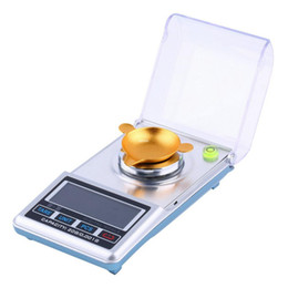 Wholesale Digital Jewellery Balance - Freeshipping Newest 0.001x 20g High Precision Digital Scale Jewellery Balance Pocket Weigh Portable Electronic LCD Display Pocket Scale