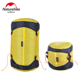 Wholesale Compression Bag Camping - Wholesale- NatureHike Outdoor Sleeping Bag Pack Compression Stuff Sack High Quality Storage Carry Bag For Camping Hiking Mountain M L XL