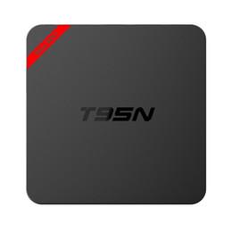 Wholesale Smart Tv Upgrade - Android OTT TV Box T95N Mini MX Amlogic S905X Quad core 6.0 OS fully loaded Smart Streaming Media Player 1G+8G MXQ pro Upgraded