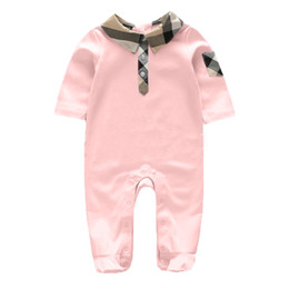 Wholesale 2t Girl Costume - autumn Newborn Infant Baby Boy Girls clothes Outfits Cotton baby Romper costume Jumpsuit baby boys clothes One-pieces 0-12moths