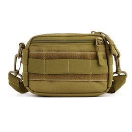 Wholesale Utility Waist Pack - 2017 Fashion Protector Plus Outdoor Woodland Tactical Utility Hip Pack Pouch Outdoor Nylon Messenger Bag Waist Belt Bag