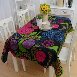 Wholesale Cover Overlay - BZ314 Fashion wind dream Table Cloth Wat cotton table cloth home hotel drape Table Cover Overlay