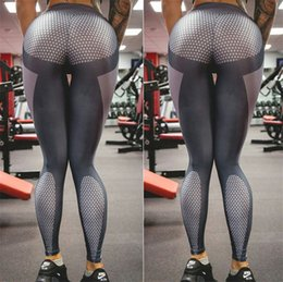 Wholesale Print Leggins Xl - Explosion Womens Printed Yoga Gym Leggings Pants For Woman Super Elastic Sexy Slim Sprots Fitness Leggins Bodycon Pencil Trousers