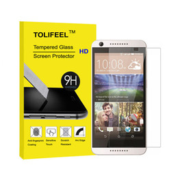Wholesale M7 Screen - 2.5D Curved Premium Tempered Glass Film Screen Protector For HTC One M7 M8 M9 M10 Desire 826 Protective Glass Guard Film