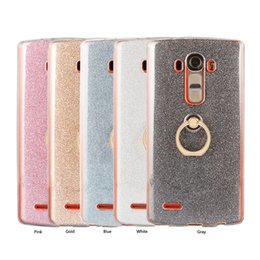 Wholesale Stylus Metal Cases - Stylish lightweight Case For LG G4 G5 V10 V20 G6 K10 UF820 Stylus 3 Cover Metal Ring Shockproof Cover Case Phone shell